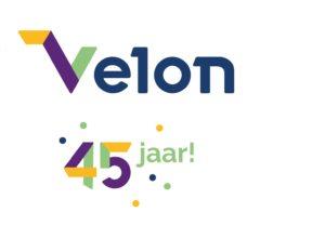 45 jaar Velon – 45 creatieve ideeën met het jubileumlogo